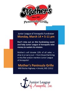 Mothers Fundraiser Flyer2